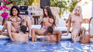 Sex Party in Ibiza